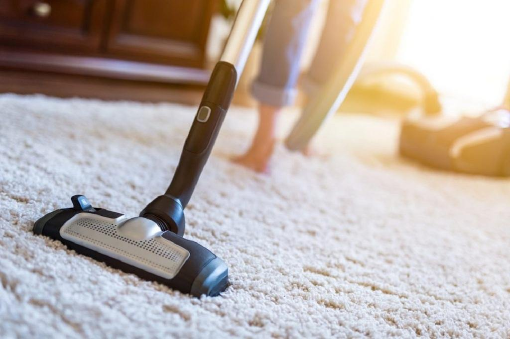 Carpet Cleaning With A Vacuum