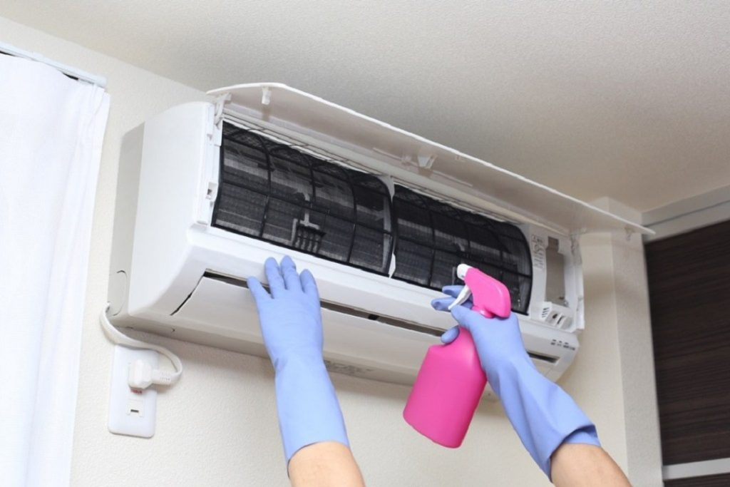 What Chemical Is Used To Clean Air Conditioners